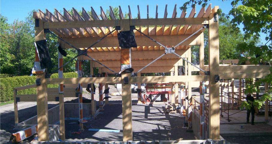 3e pavillon de service du Parc Saint-Sacrement Cecobois 4