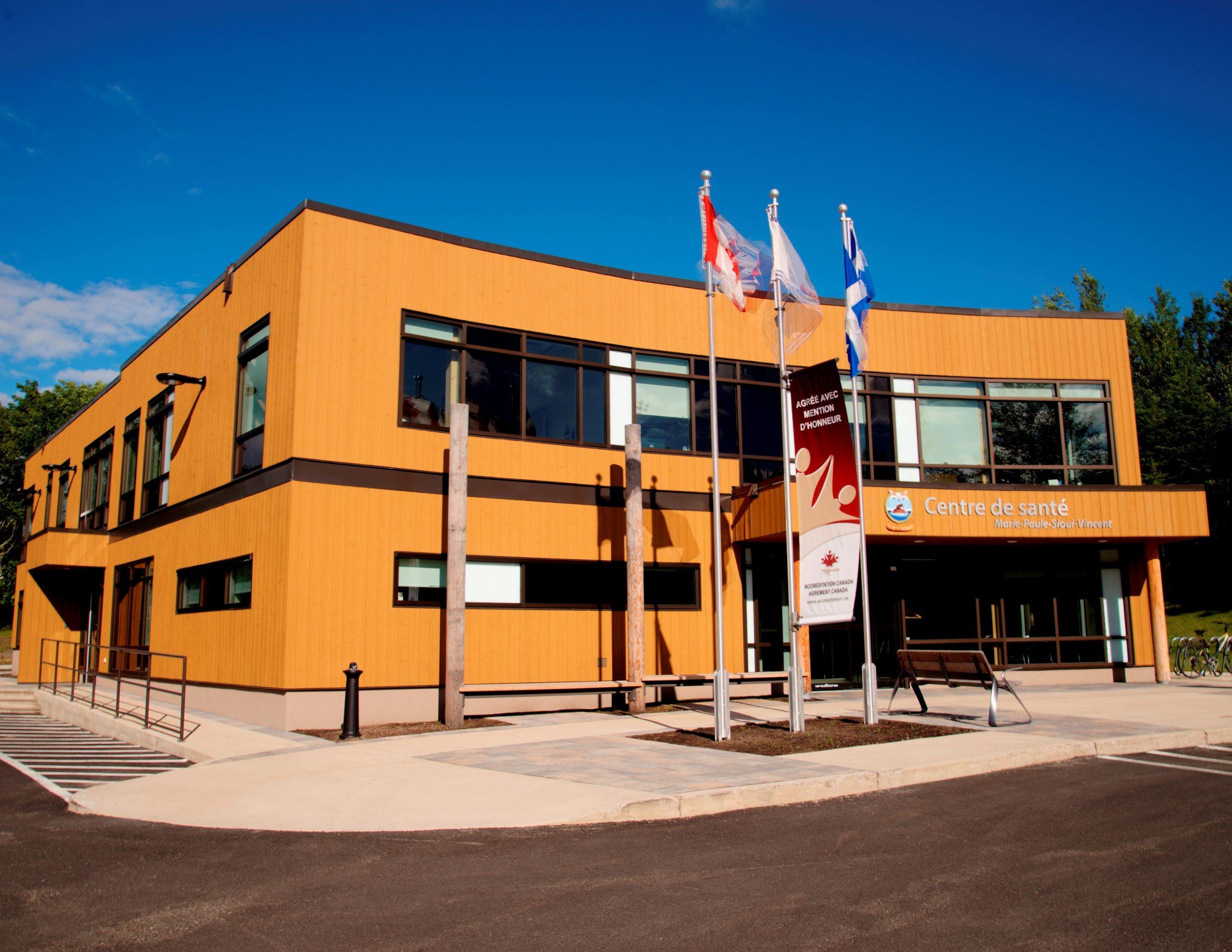 Centre de santé Marie-Paule-Sioui-Vincent Cecobois 4