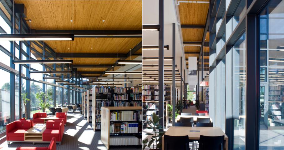 Bibliothèque Félix-Leclerc (Agrandissement) Cecobois 4