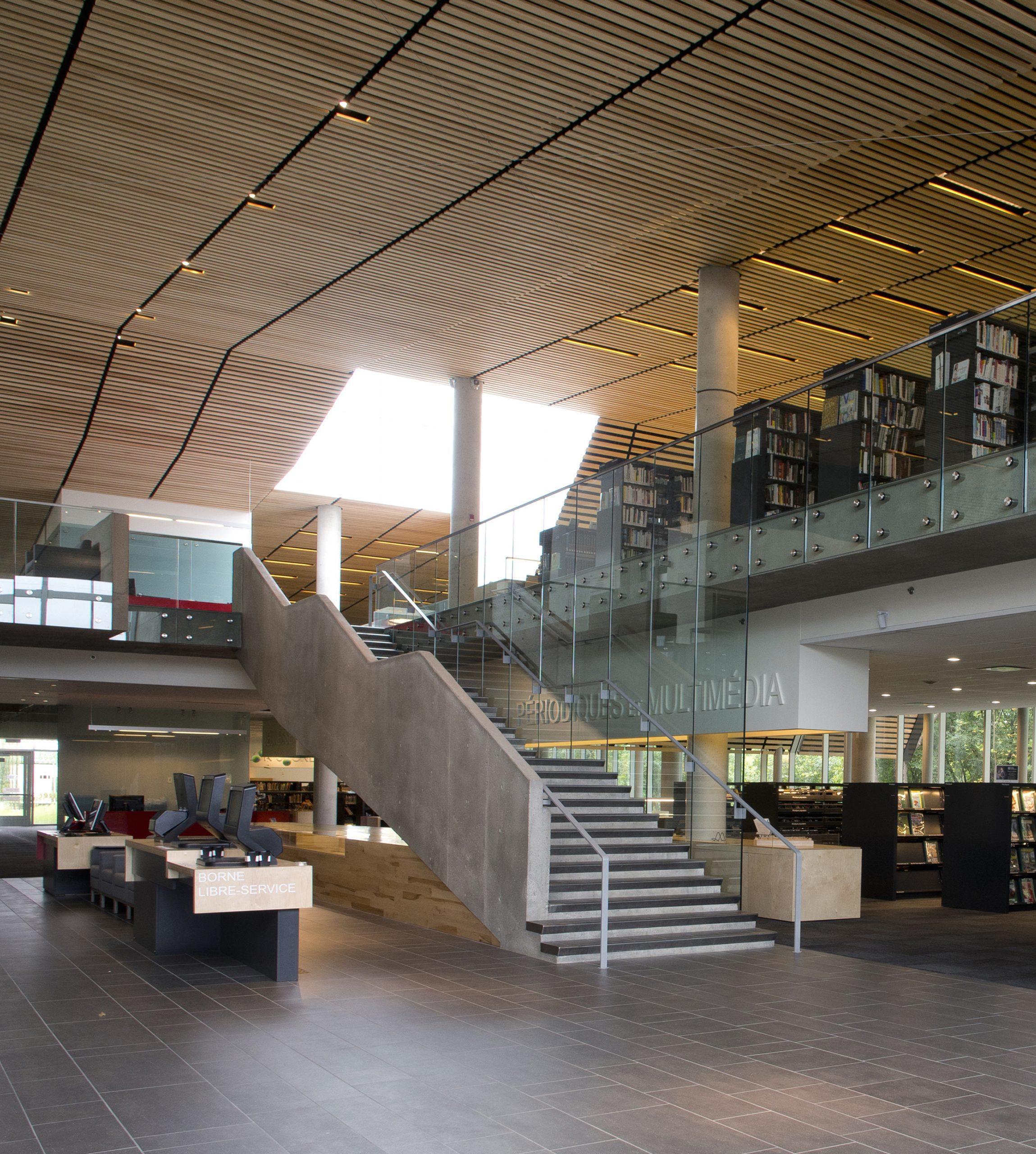 Bibliothèque du Boisé Cecobois 4