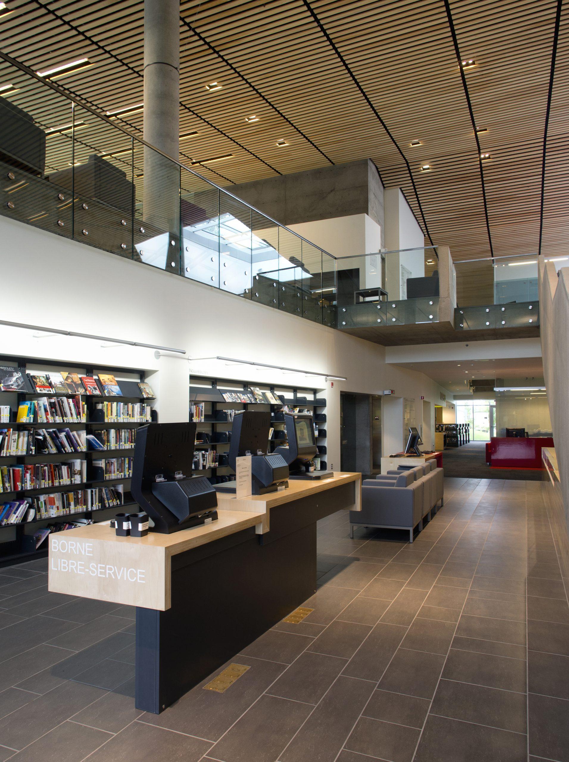 Bibliothèque du Boisé Cecobois 5