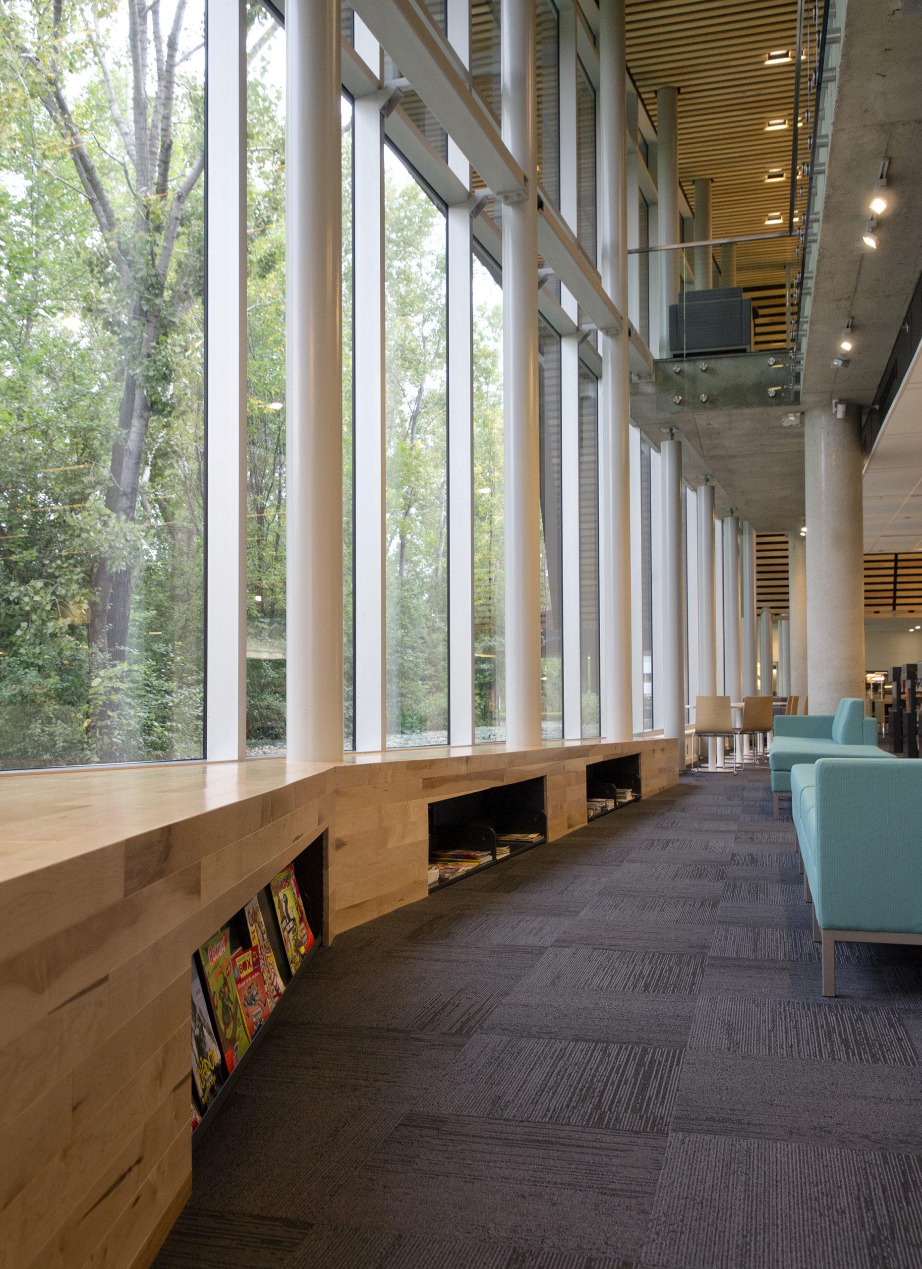 Bibliothèque du Boisé Cecobois 7