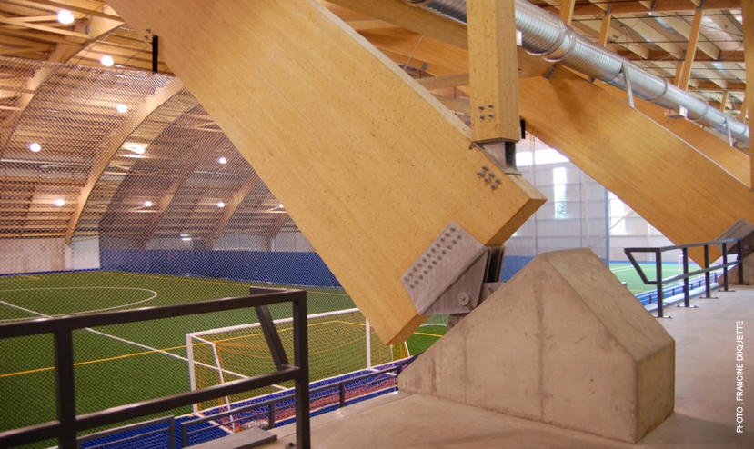 Complexe sportif CAPCE Cecobois 4
