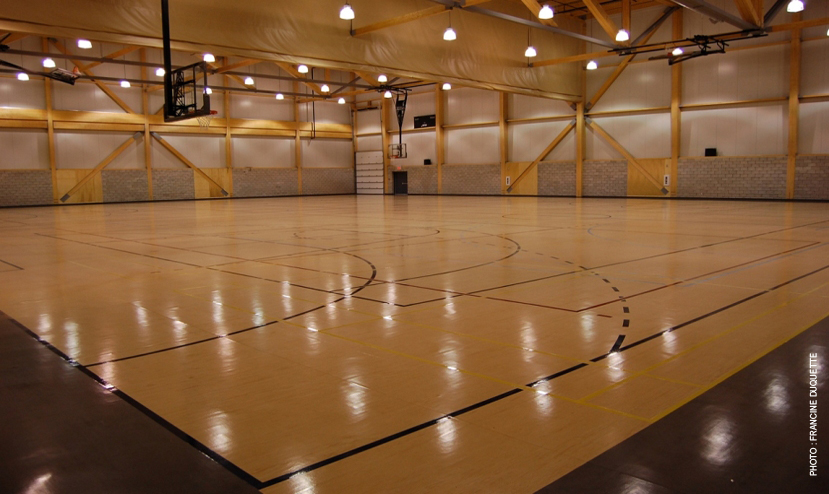 Complexe sportif CAPCE Cecobois 5
