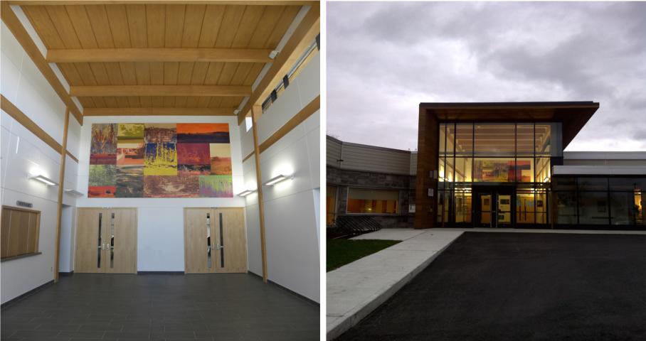 Centre multifonctionnel de Saint-Éphrem-de-Beauce Cecobois 8