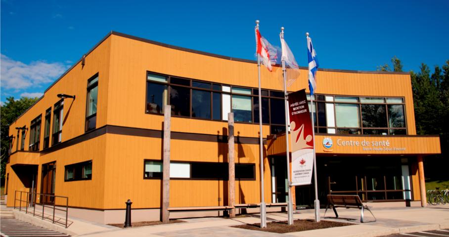 Centre de santé de Wendake Cecobois 1