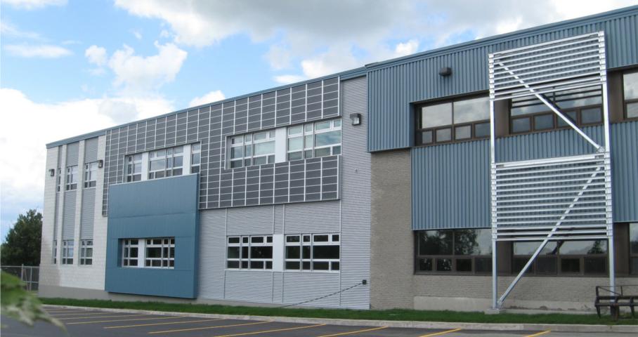 Agrandissement de l'École Notre-Dame-des-Bois-Francs Cecobois 1