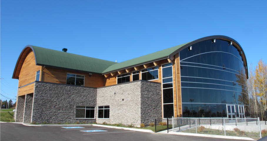 Pavillon communautaire et multiservices Mellon Cecobois 1