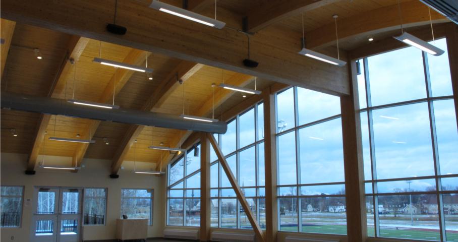 Pavillon communautaire et multiservices Mellon Cecobois 3