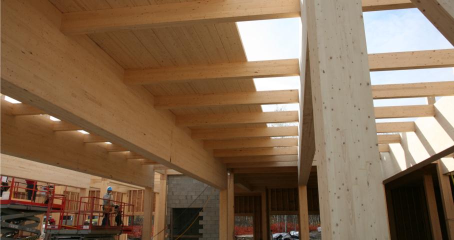 Pavillon communautaire et multiservices Mellon Cecobois 6