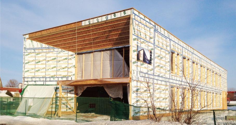 Siège social de STGM architectes Cecobois 8