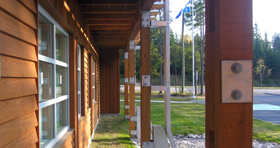 'Poste de la Sureté du Québec à Lac-Beauport Cecobois