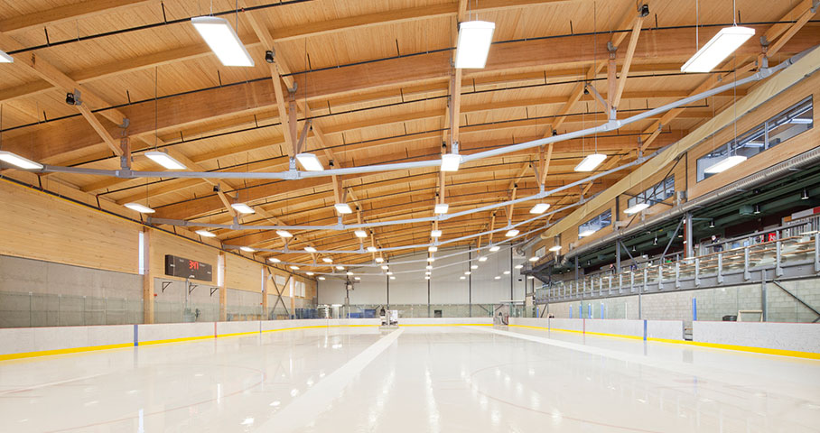 Aréna et pavillon de services de l'Universite du Québec à Chicoutimi (UQAC) Cecobois 5