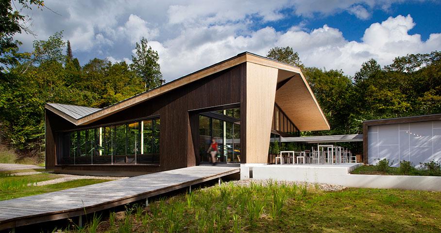 Centre de découverte du Parc National du Mont-Tremblant Cecobois 6