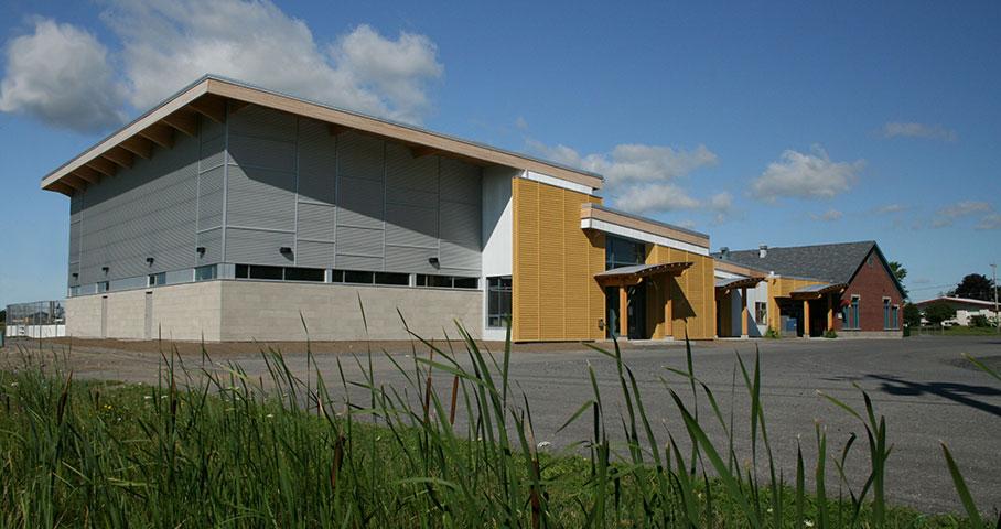 Centre des loisirs de Saint-Blaise-sur-Richelieu Cecobois 1
