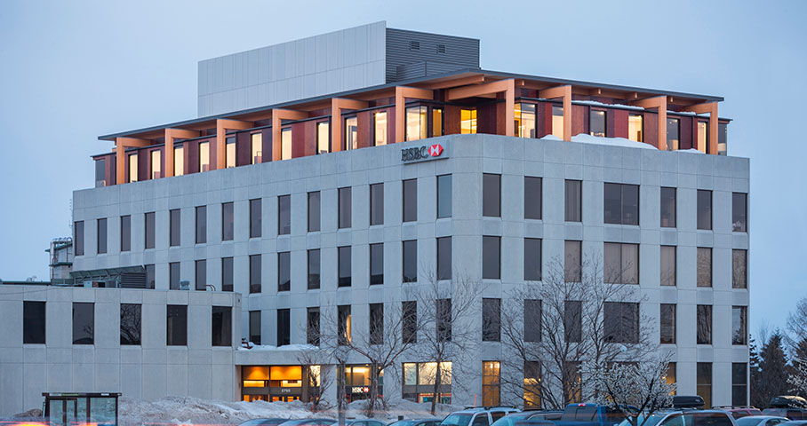 'Cinquième étage, édifice Complan Cecobois