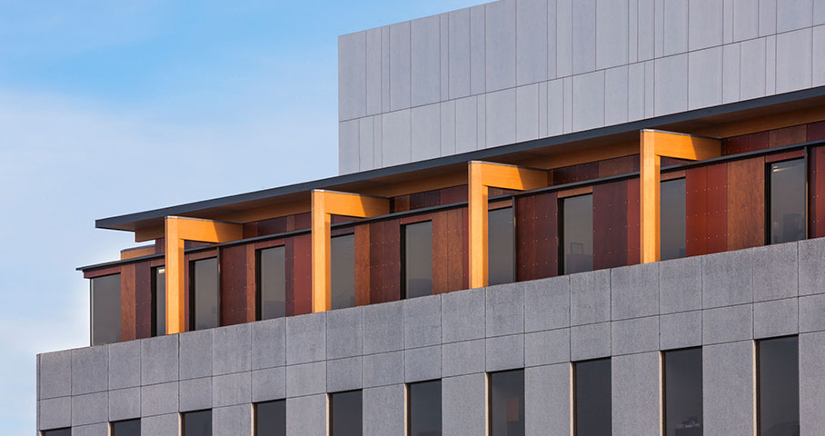 Cinquième étage, édifice Complan Cecobois 2