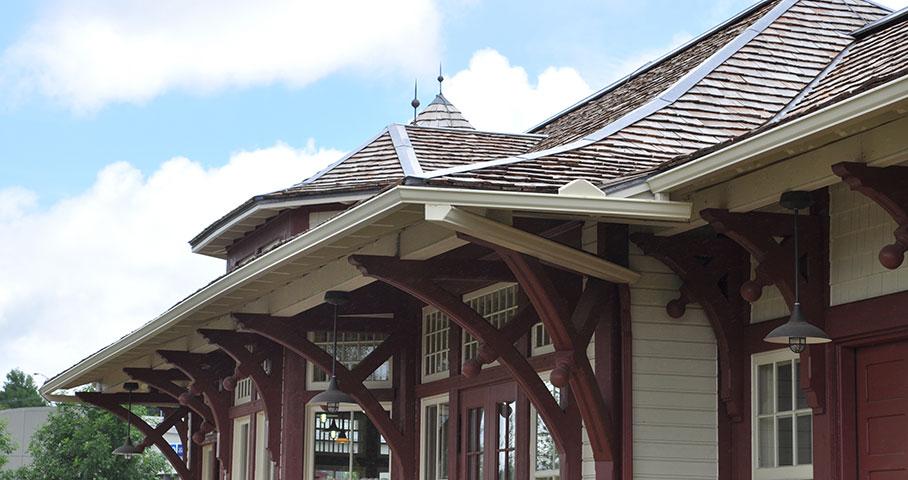 Gare de Sainte-Agathe-des-Monts Cecobois 2