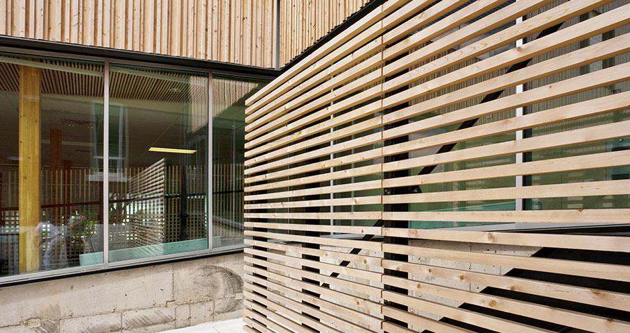 Institut des Sciences de la forêt tempérée (ISFORT) Cecobois 3