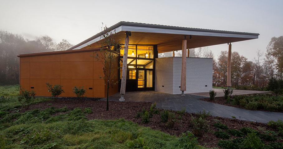 Pavillon d'accueil, Parc National du Lac-Témiscouata Cecobois 6