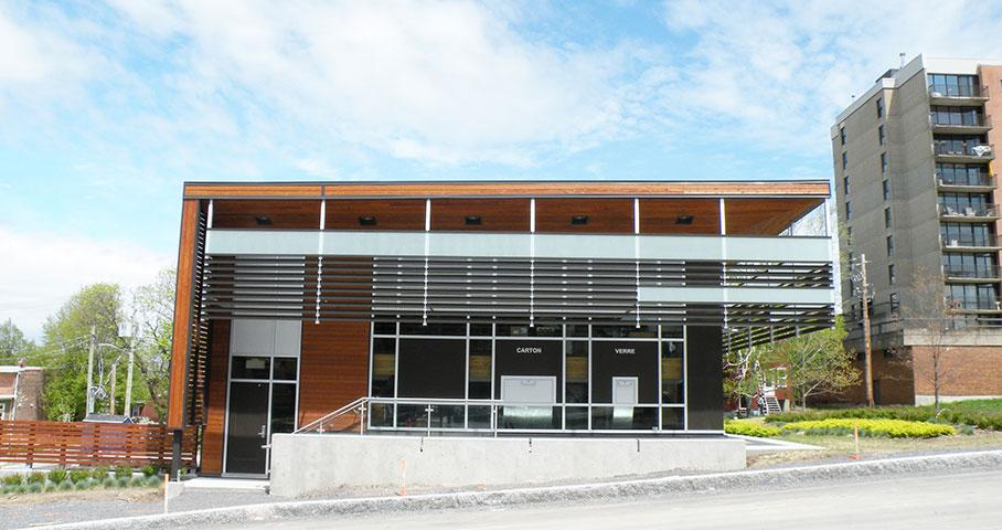Terminal de collecte des matières résiduelles – Cité Verte Cecobois 4