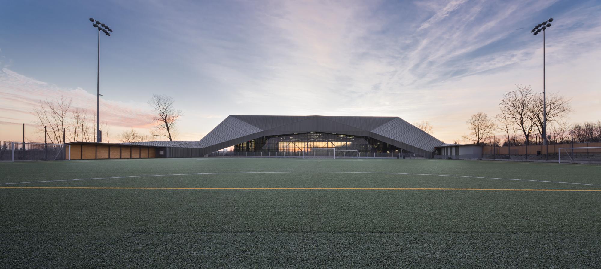 Stade de soccer de Montréal Cecobois 2
