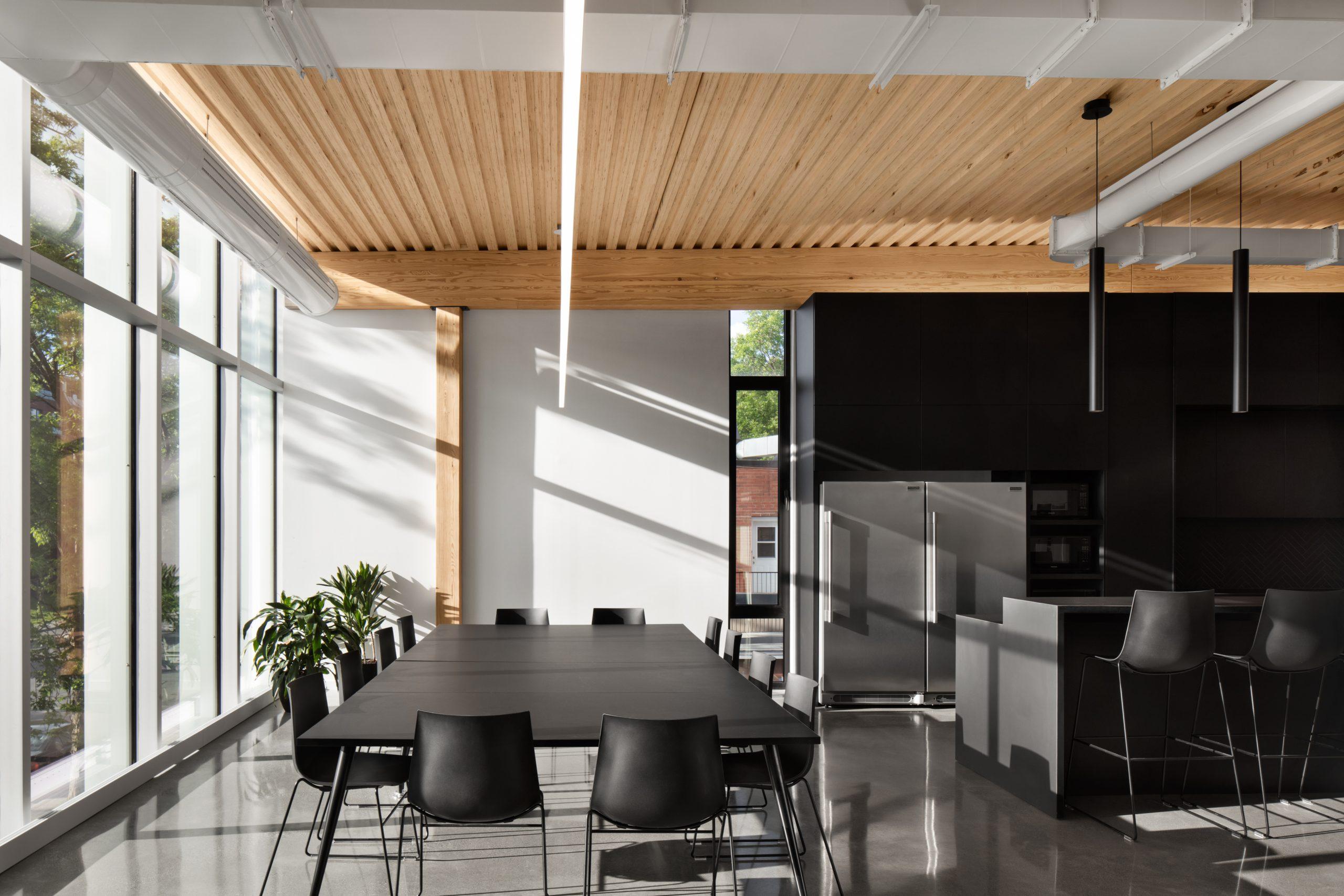 Agrandissement des bureaux de Jodoin Lamarre Pratte architectes Cecobois 4