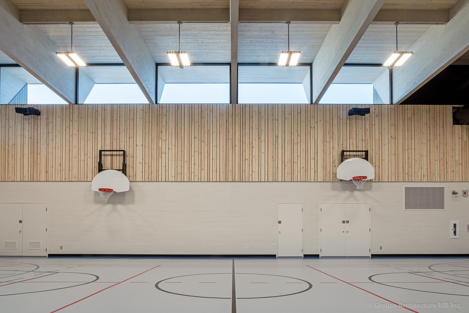 Gymnase de l'école Saint-Victor Cecobois 1