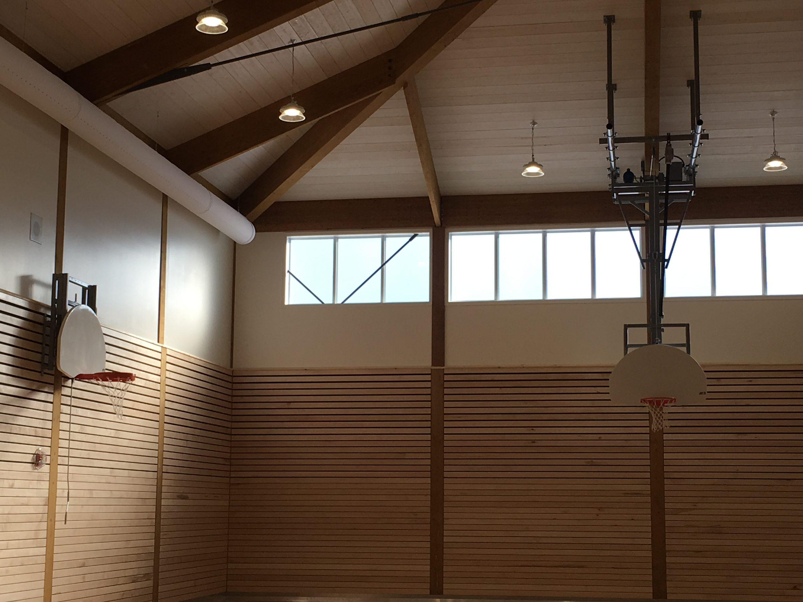 Construction d'un gymnase à l'école Centrale de St-Samuel-de-Horton Cecobois 2