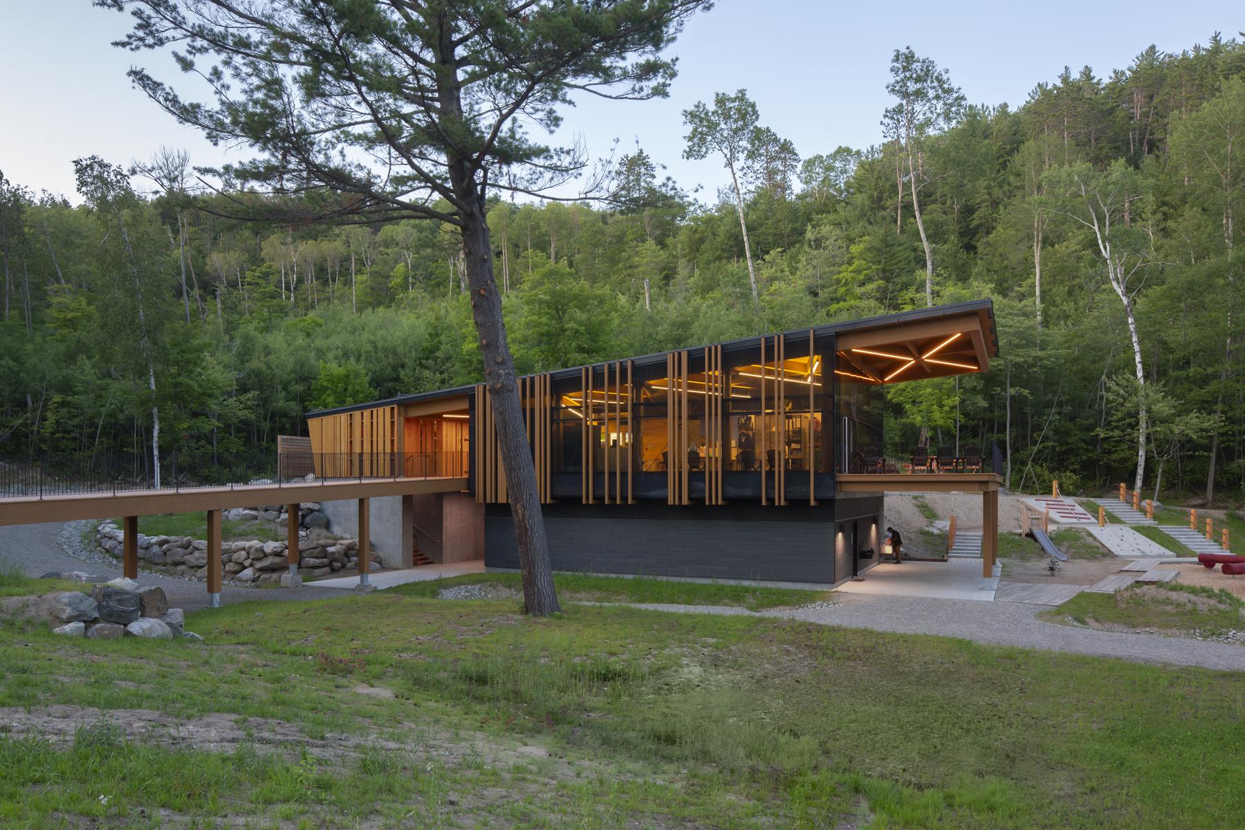 Aménagement de la Pointe-Opémican du nouveau parc national Opémican Cecobois 2