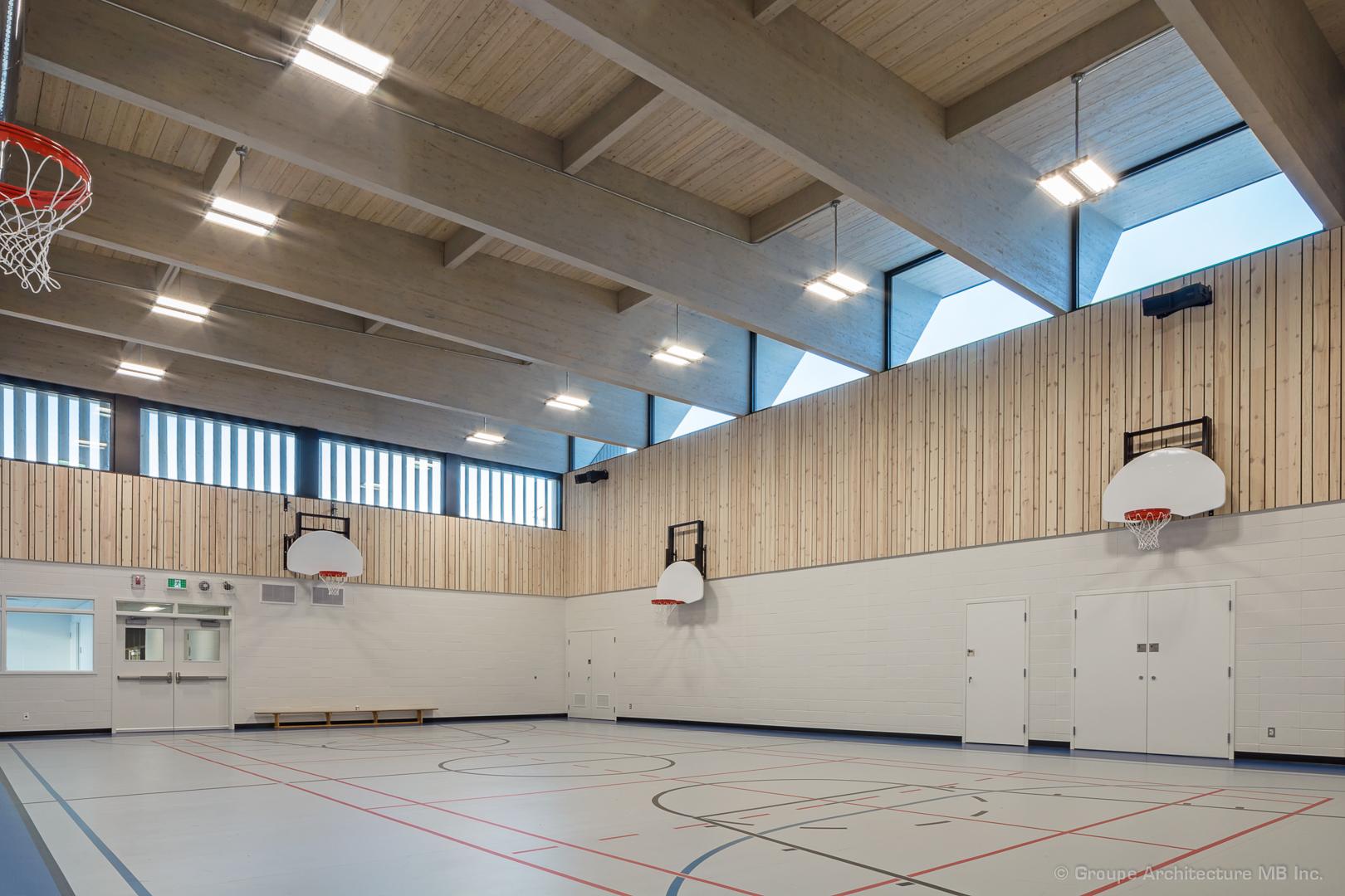 Gymnase de l'école Saint-Victor Cecobois 2