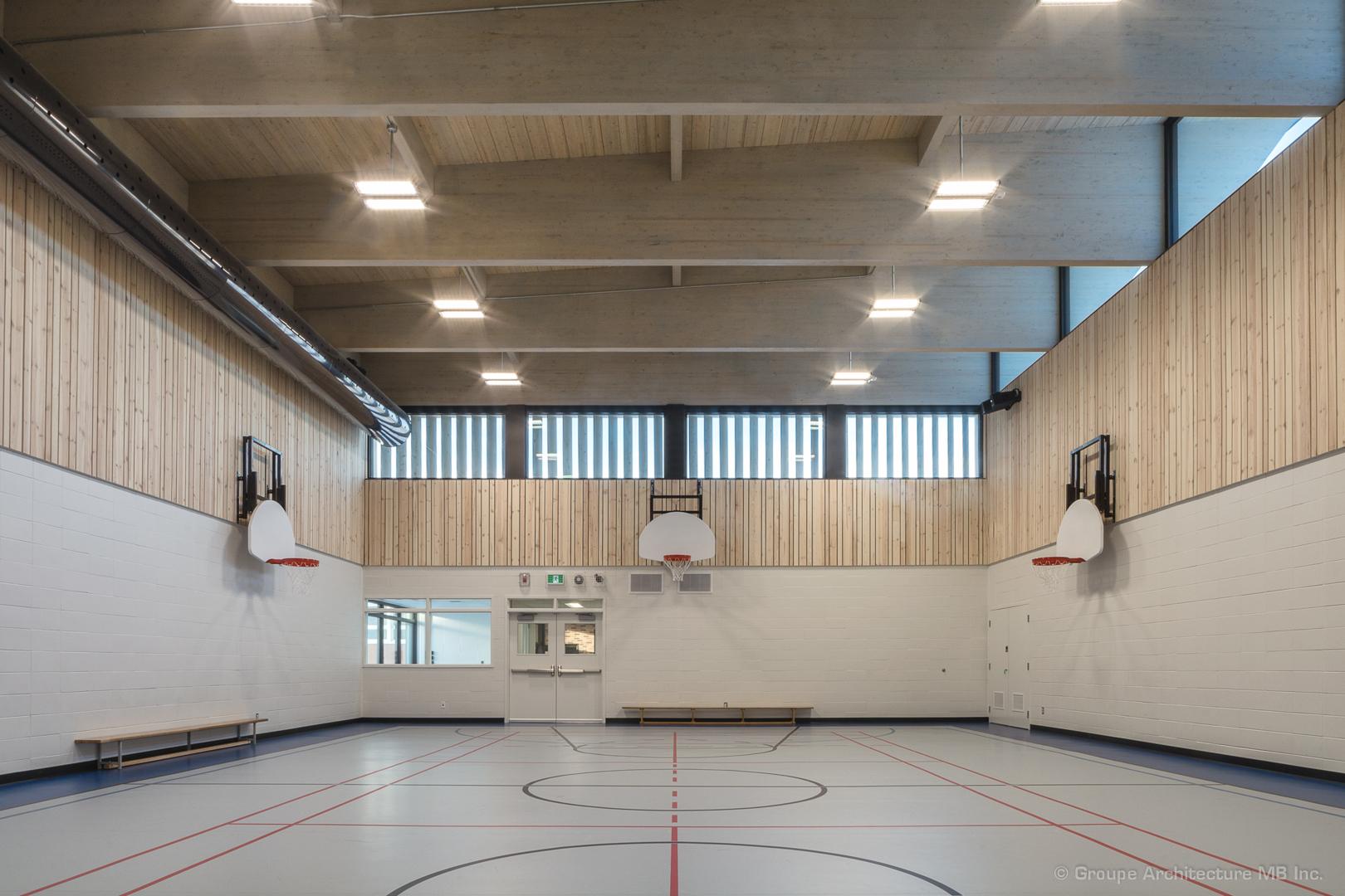 Gymnase de l'école Saint-Victor Cecobois 3