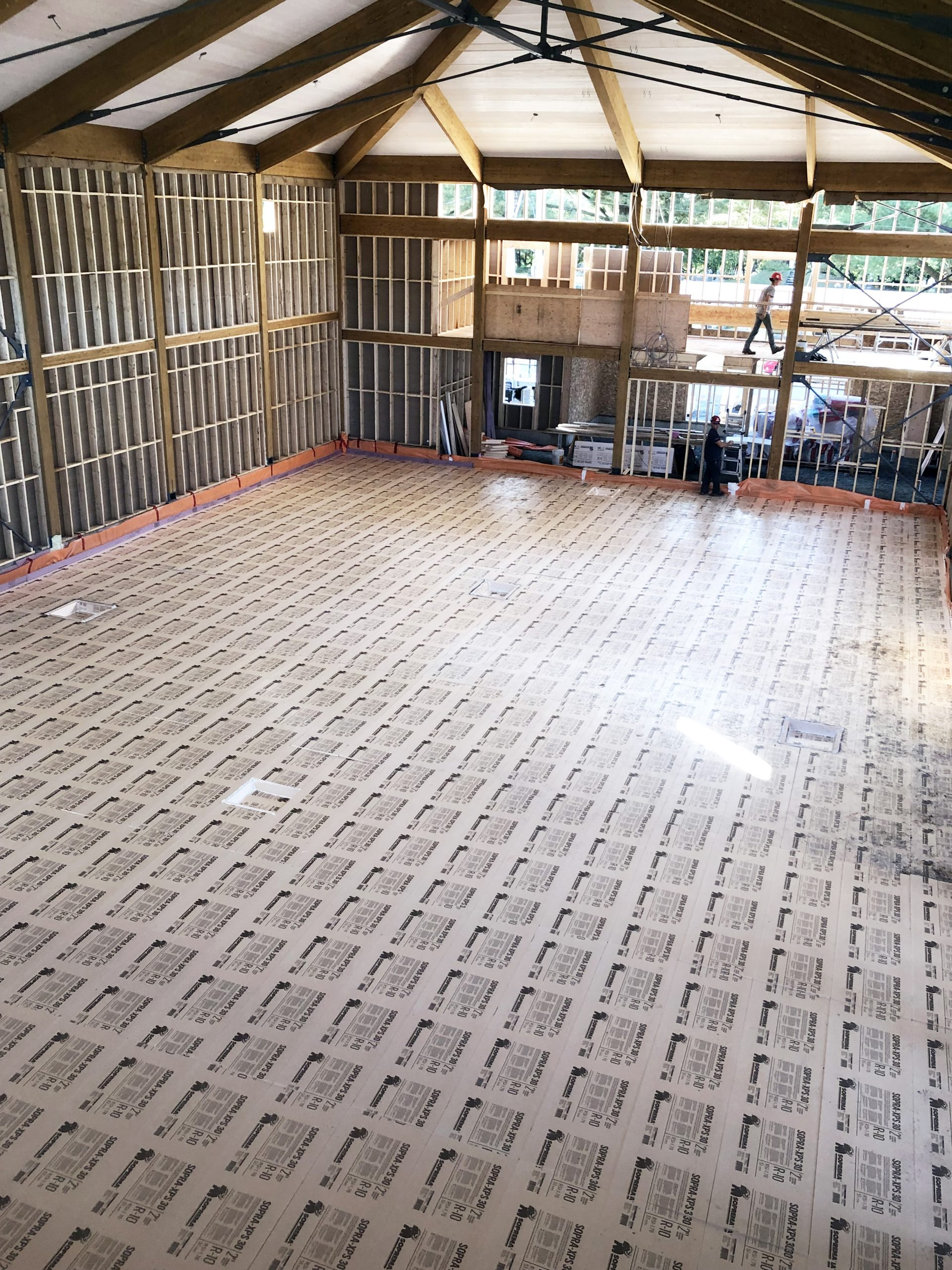 Construction d'un gymnase à l'école Centrale de St-Samuel-de-Horton Cecobois 7
