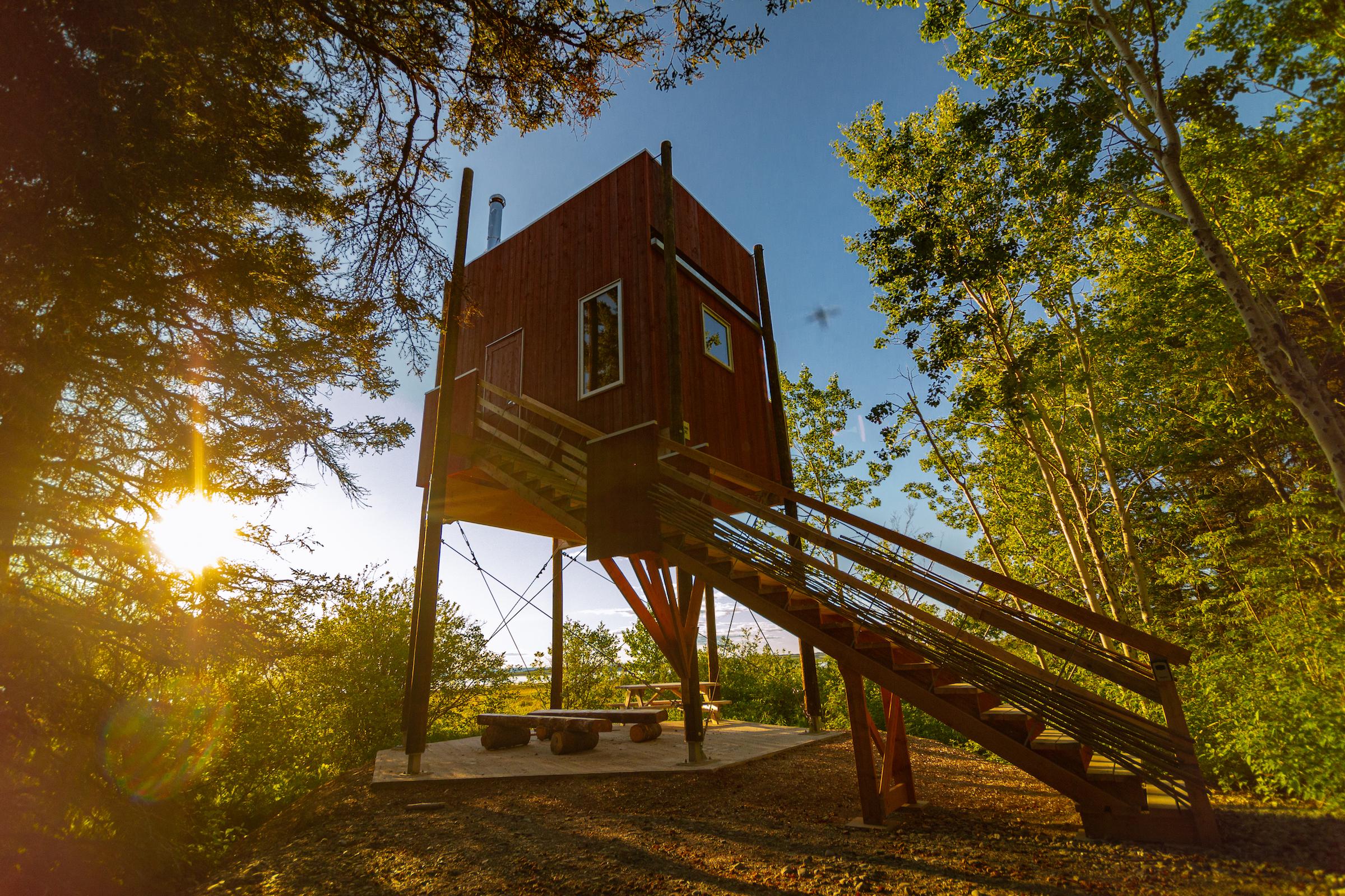 Hébergement au parc côtier Kiskotuk Cecobois 7