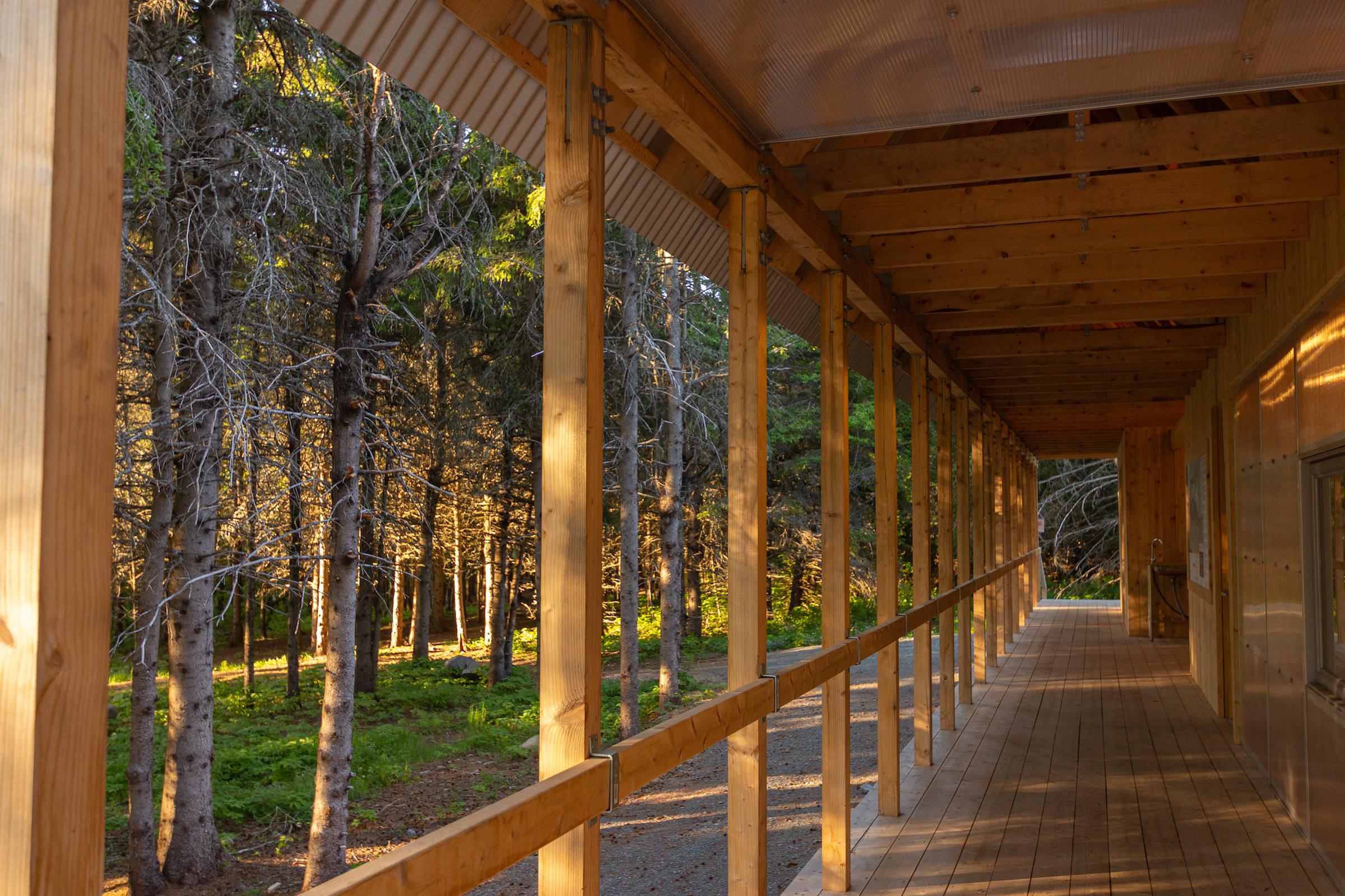 Hébergement au parc côtier Kiskotuk Cecobois 3