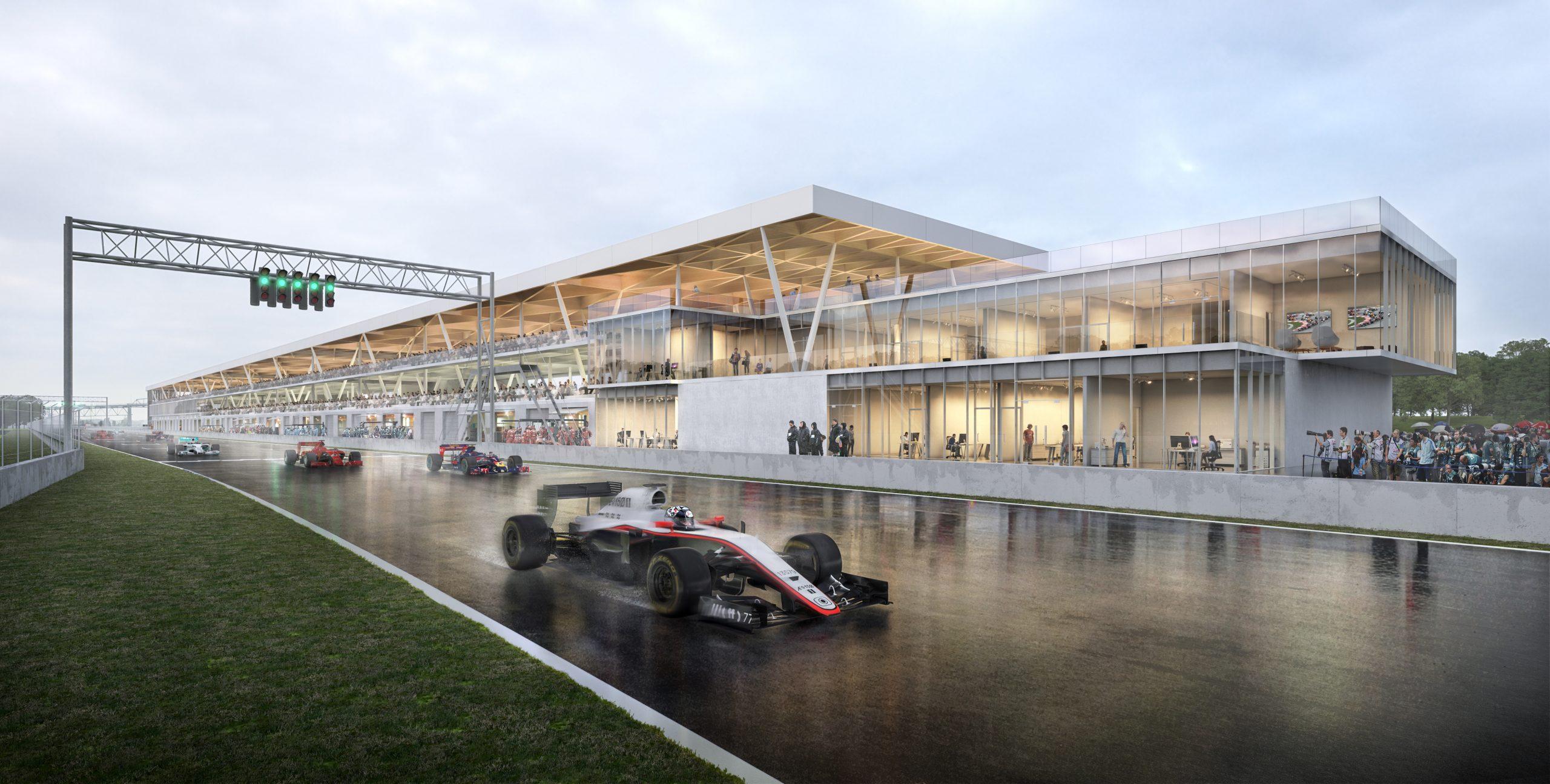 Réfection des infrastructures – Grand prix de Formule 1 Cecobois 1