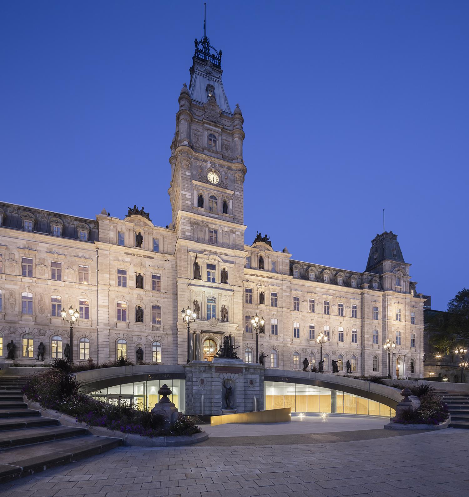 'Pavillon d'accueil de l'Assemblée Nationale Cecobois