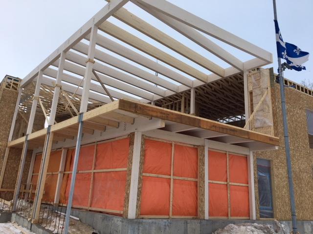 Rénovations et agrandissement des édifices municipaux à Cap-Santé Cecobois 1