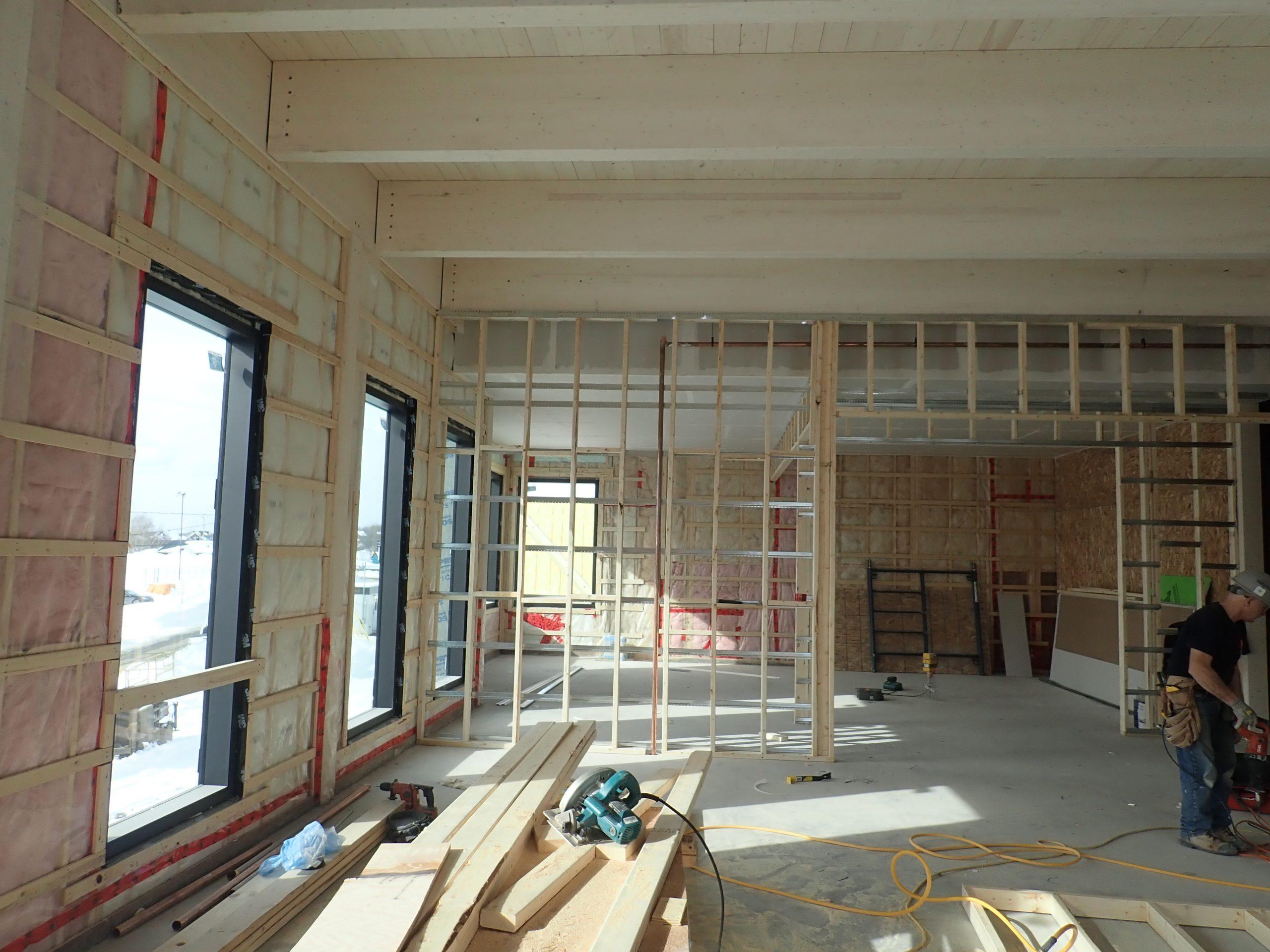 Rénovations et agrandissement des édifices municipaux à Cap-Santé Cecobois 3
