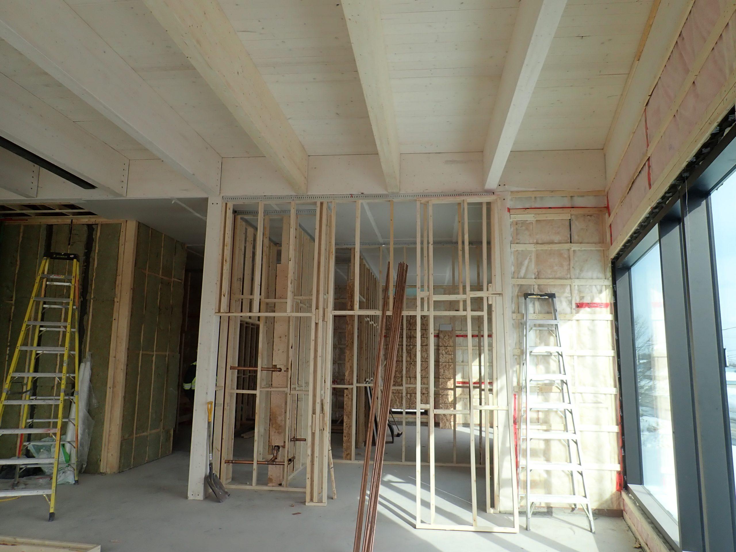 Rénovations et agrandissement des édifices municipaux à Cap-Santé Cecobois 4