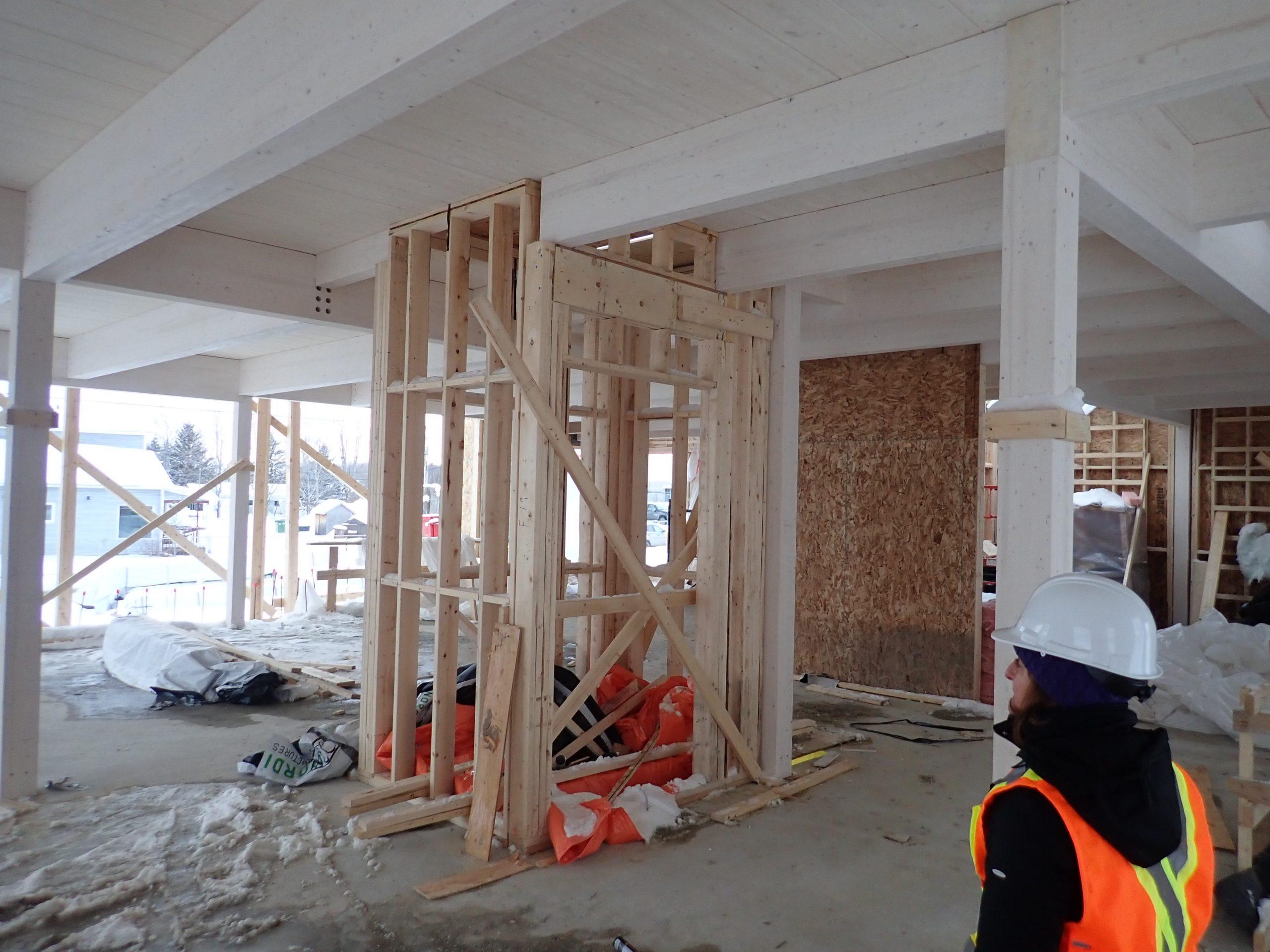 Rénovations et agrandissement des édifices municipaux à Cap-Santé Cecobois 8
