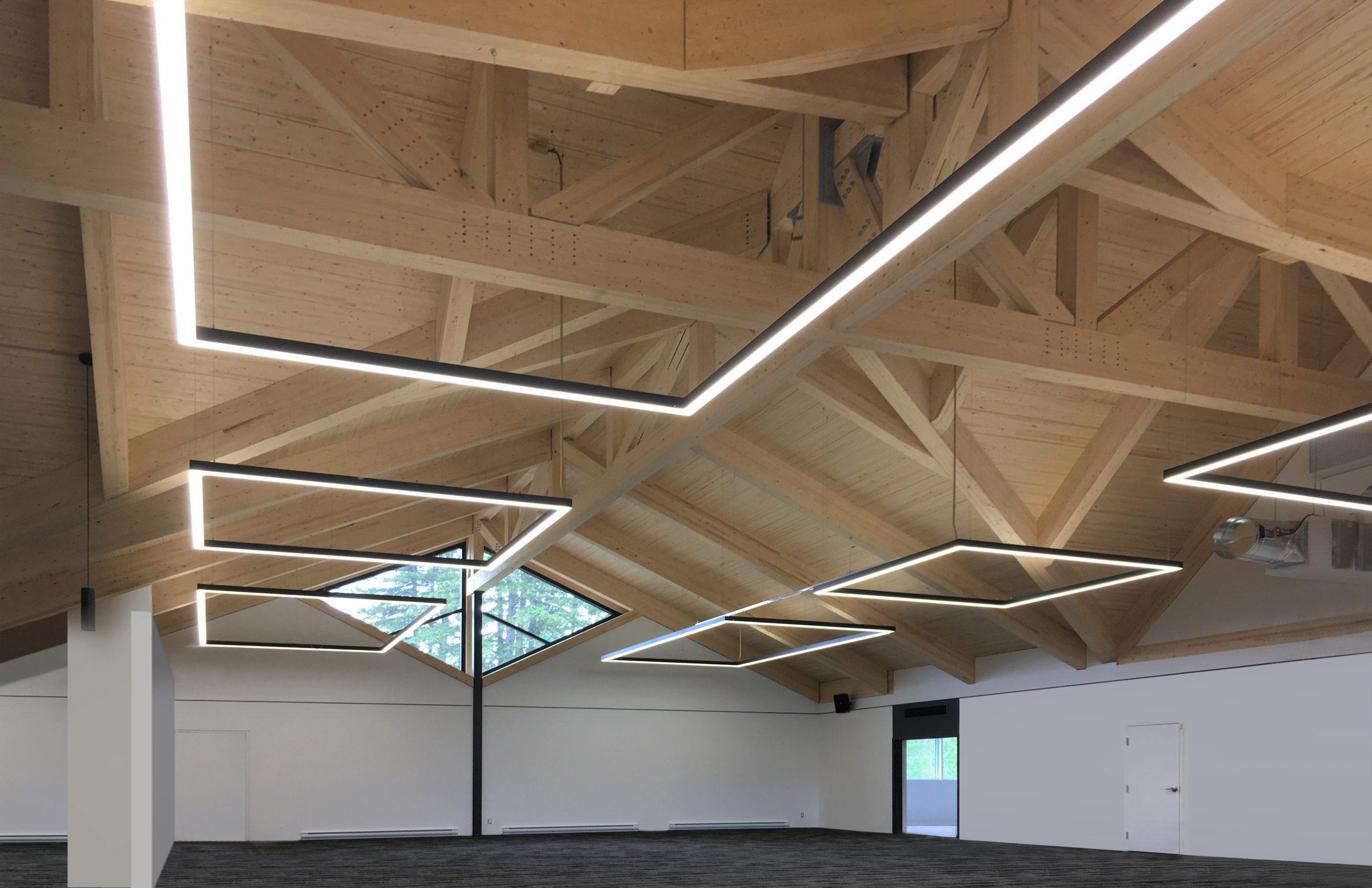 'Rénovation et agrandissement du Chalet Club de golf Saint-Georges Cecobois