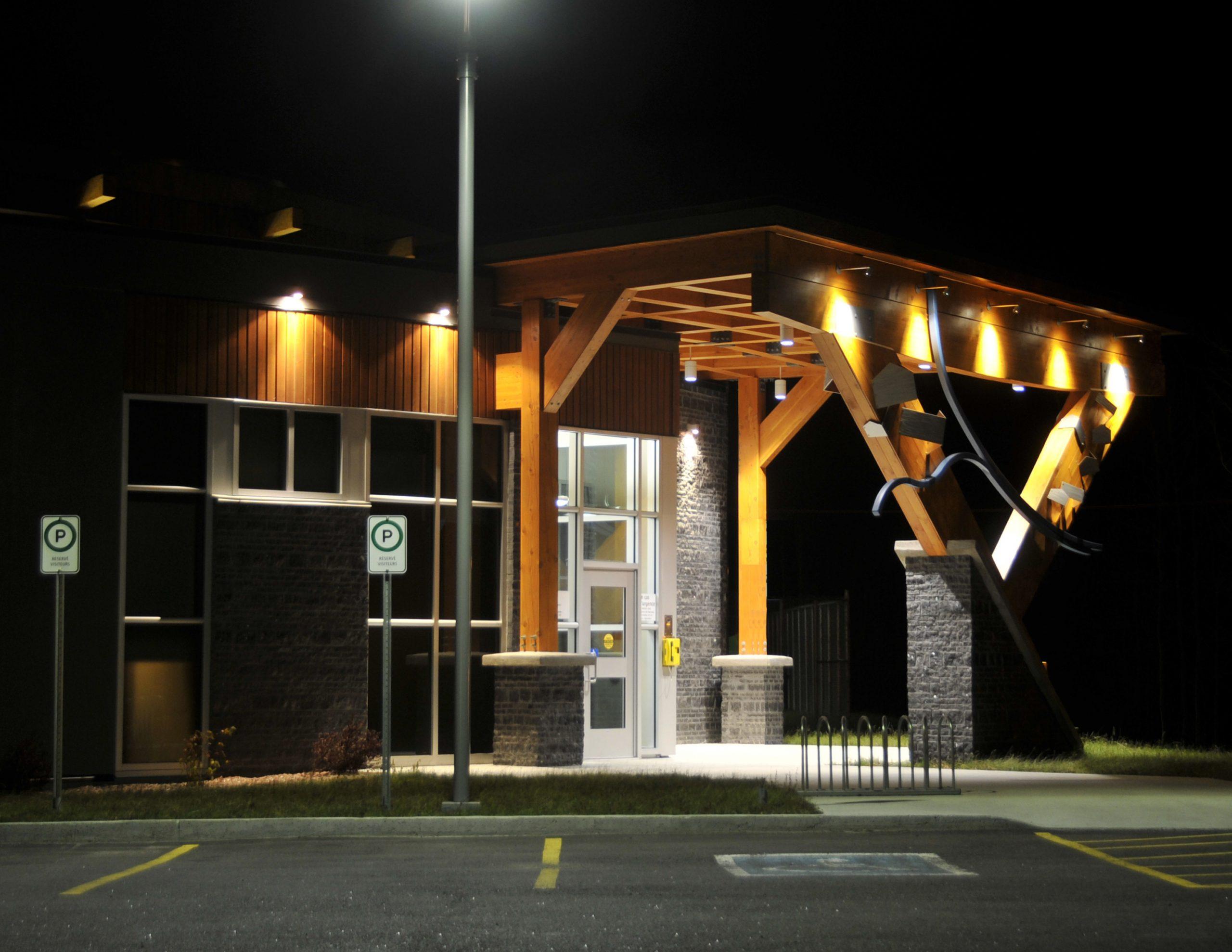 Pavillon d'accueil du parc de Rivière-du-Moulin Cecobois 9