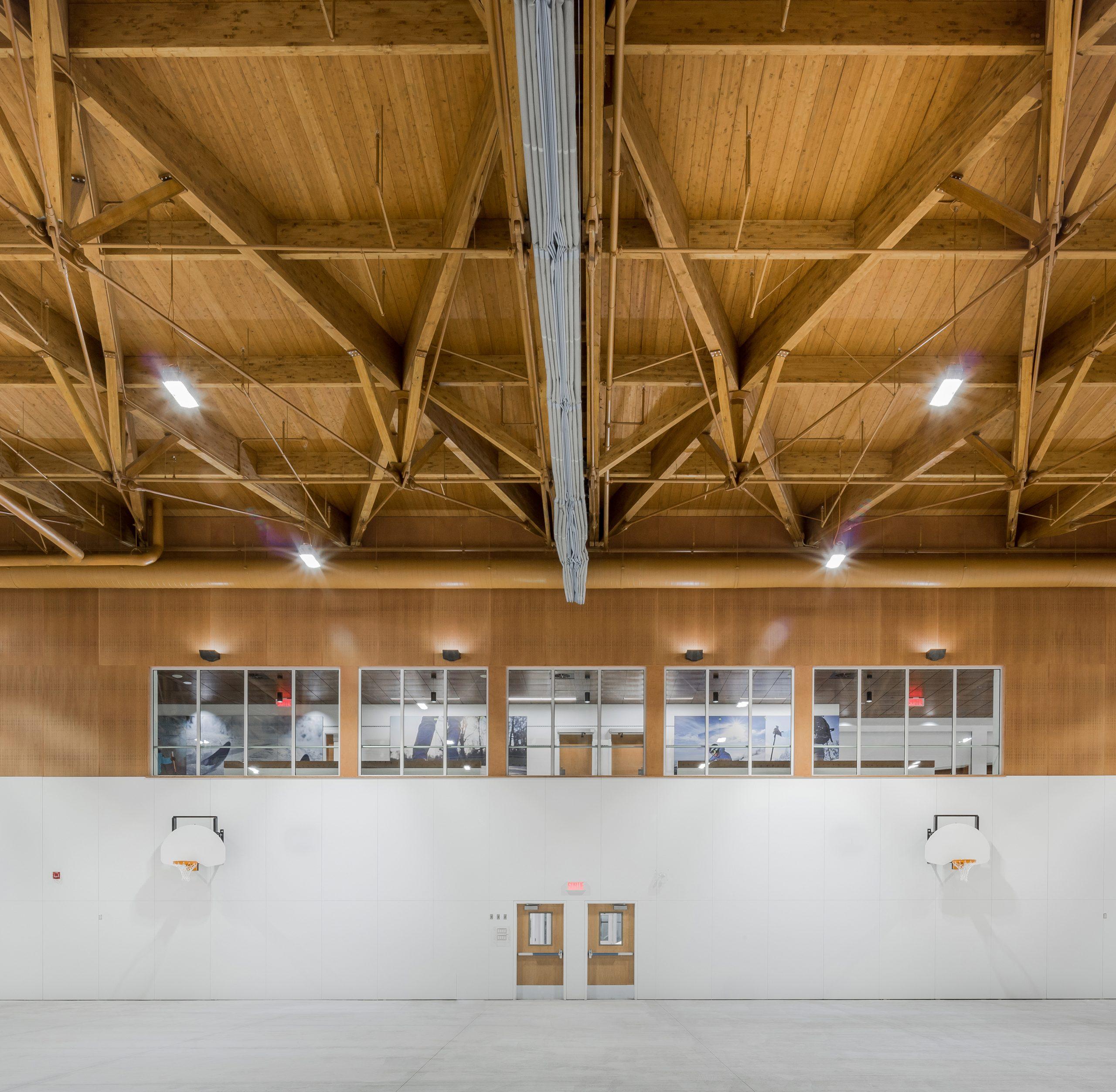 'Centre multifonctionnel de Beaupré Cecobois