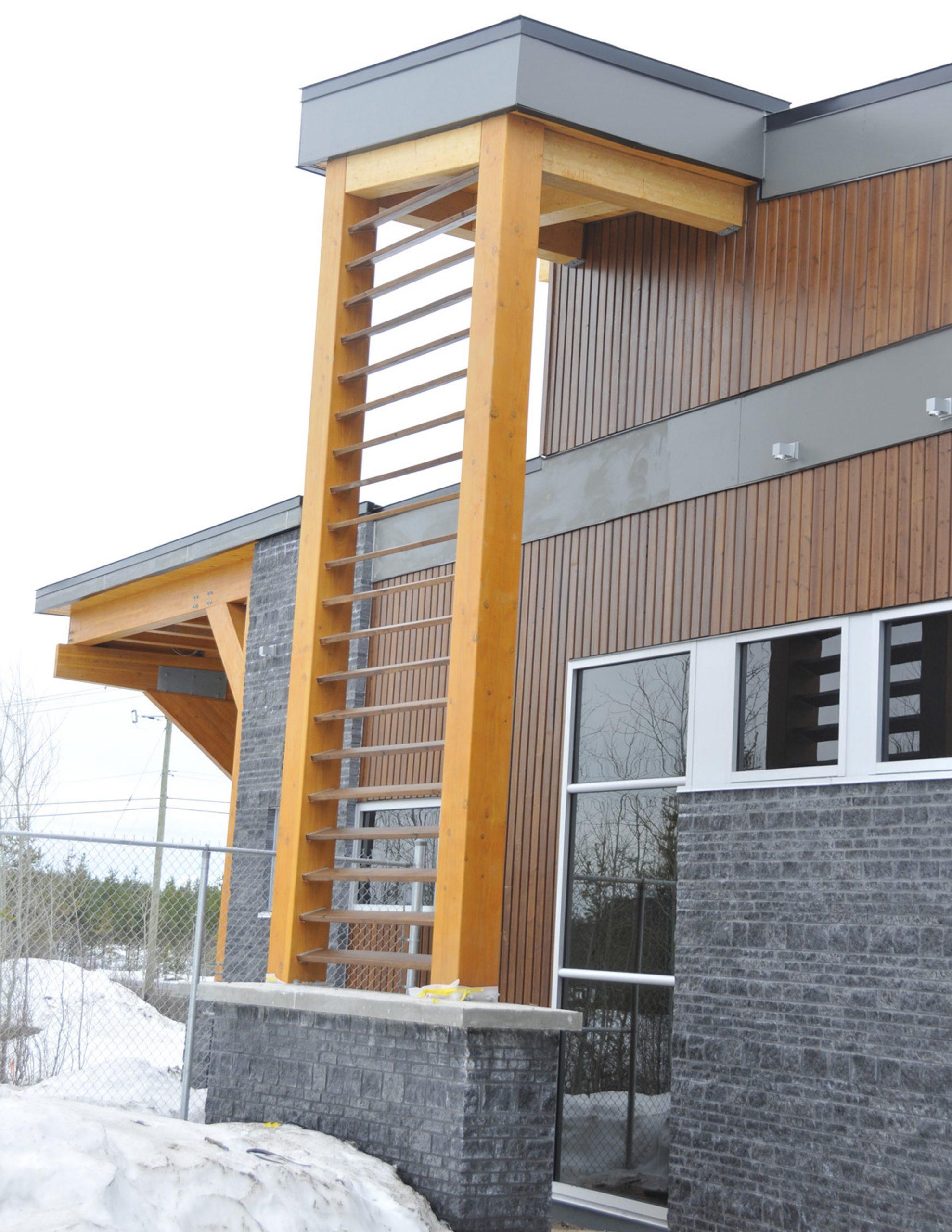 Pavillon d'accueil du parc de Rivière-du-Moulin Cecobois 7