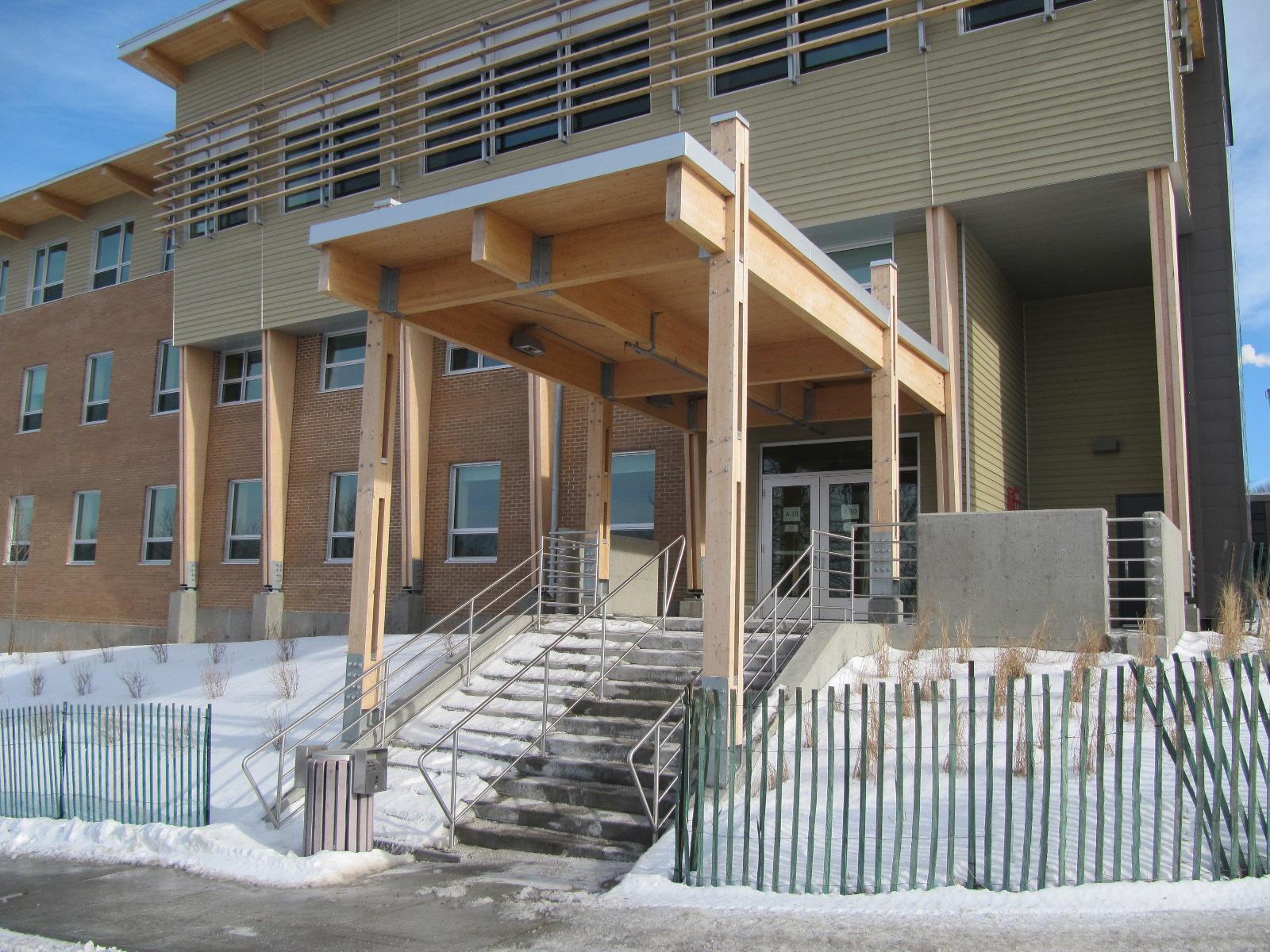 Université de Sherbrooke – Pavillon de Recherche en Sciences Humaines et Sociales Cecobois 1