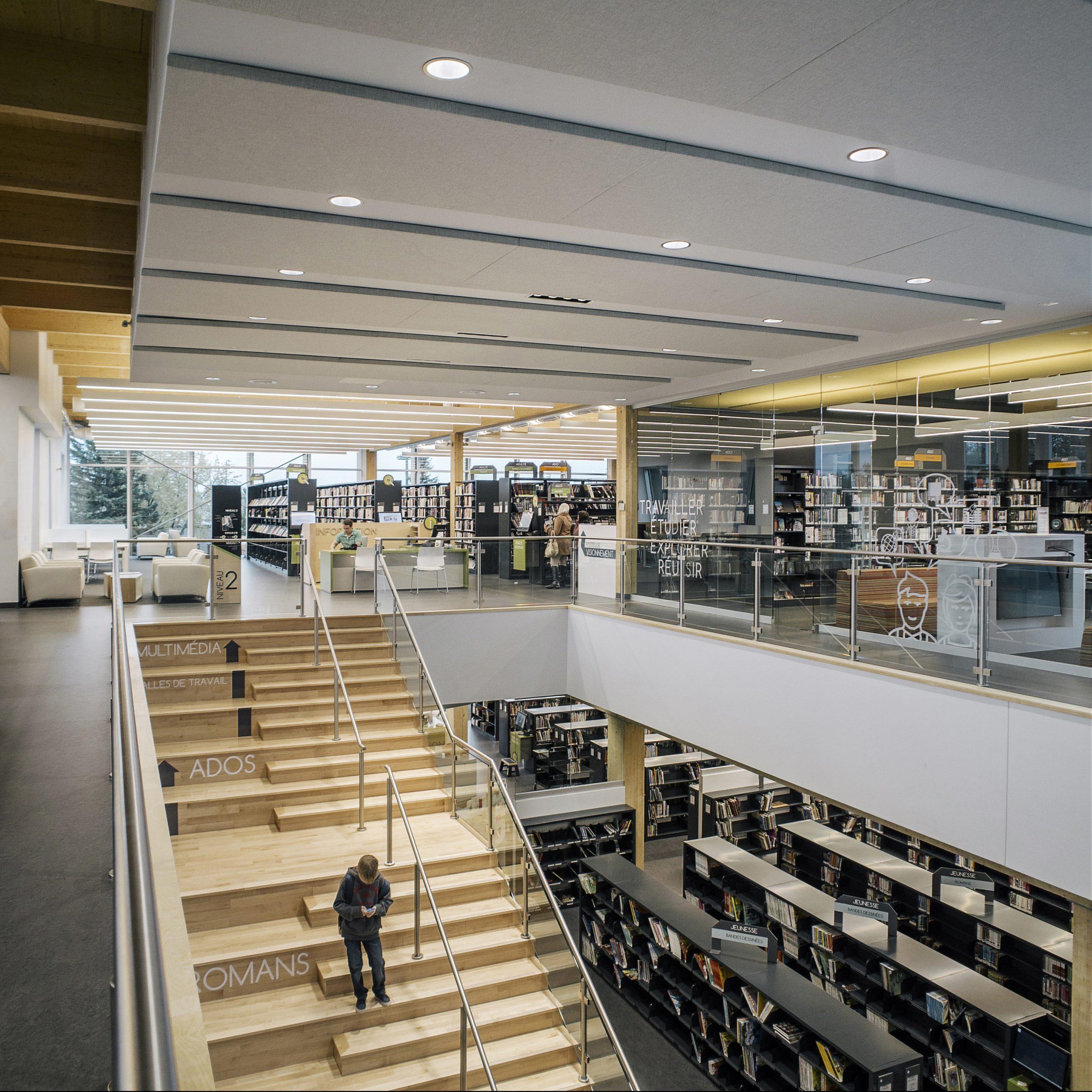 'Bibliothèque Paul-Mercier Cecobois