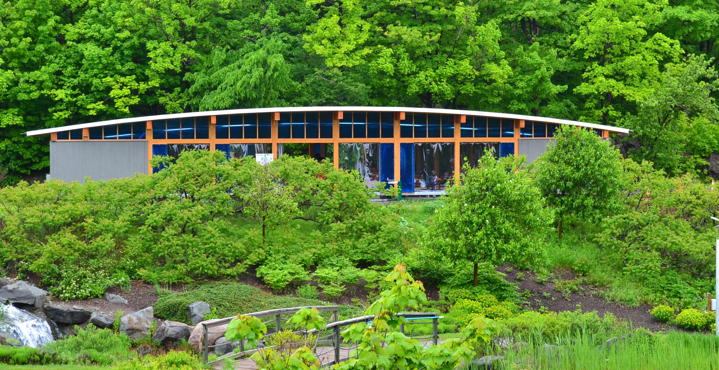 Aquarium du Québec – Préau pour groupes scolaires Cecobois 1