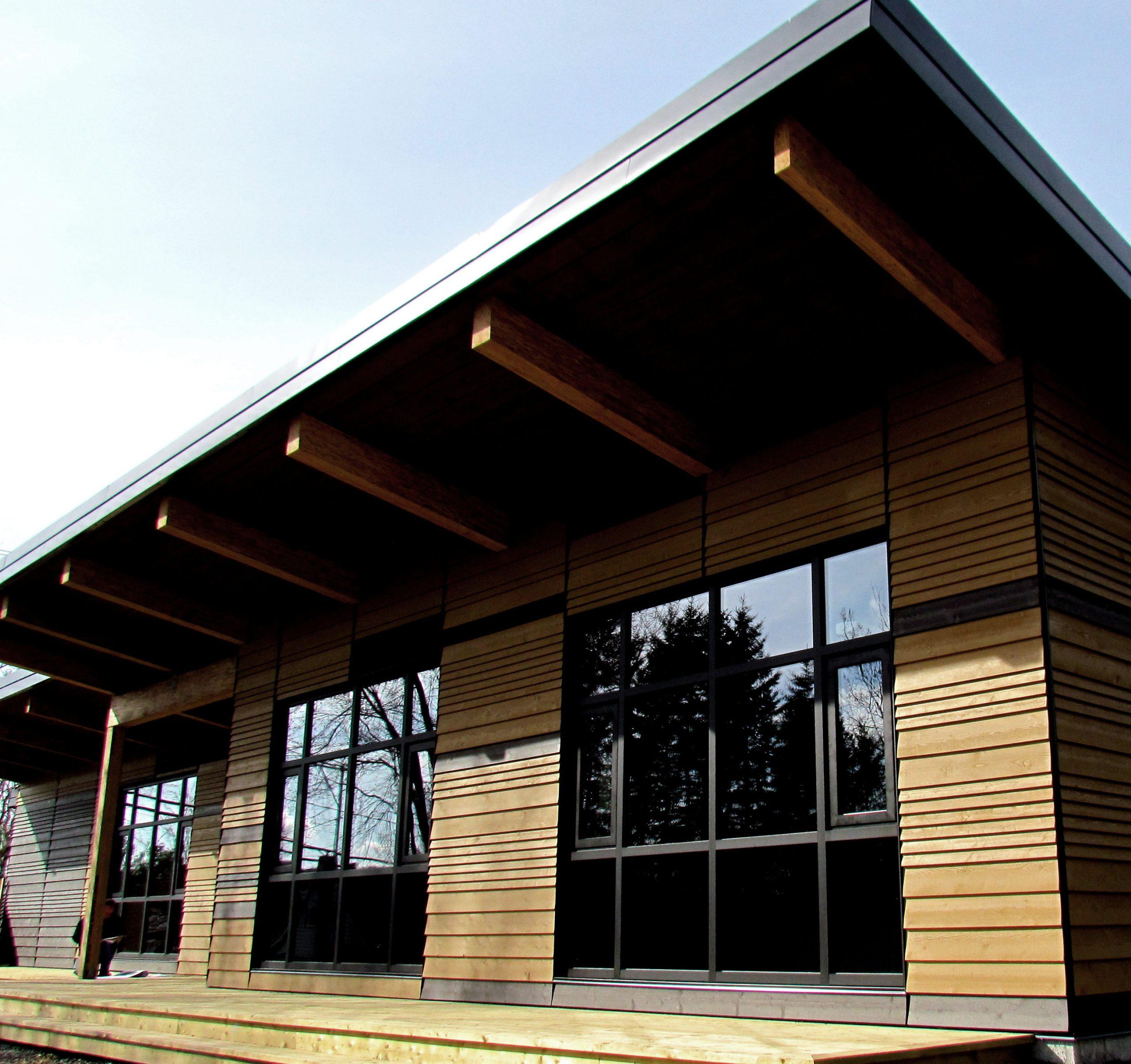 Pavillon d'accueil du Parc linéaire du Lac Saint-Charles Cecobois 6