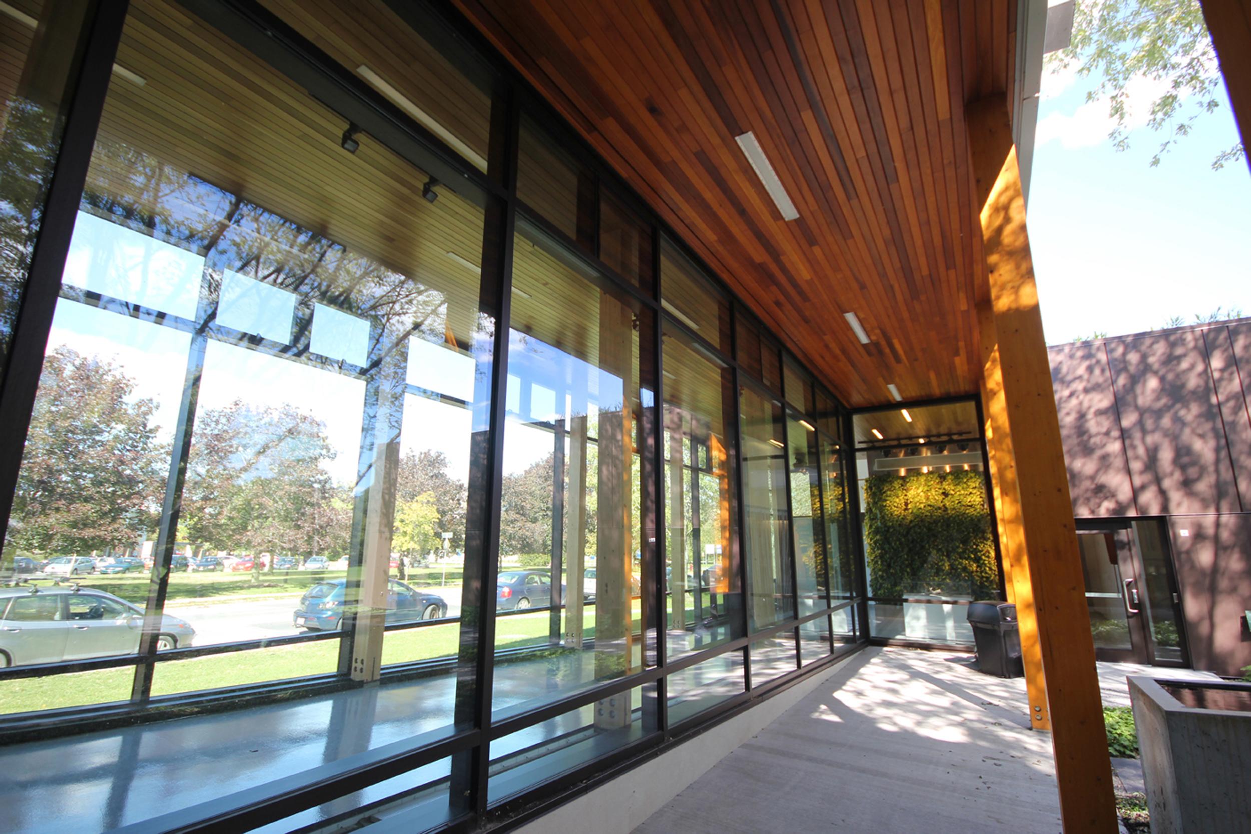 Pavillon horticole écoresponsable – ITA Campus de St-Hyacinthe Cecobois 2